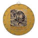 Wonderland The Cheshire Cat (Whimsical) Dartboard