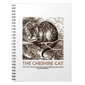 Wonderland The Cheshire Cat (Whimsical) Notebook