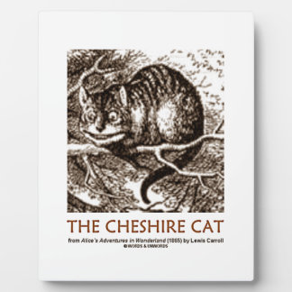 Wonderland The Cheshire Cat (Whimsical) Plaque