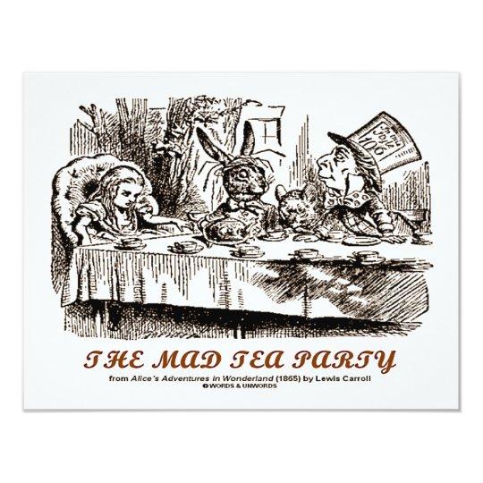 Wonderland The Mad Tea Party Card