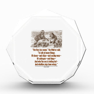 Wonderland The Time Has Come The Walrus Said Quote Award