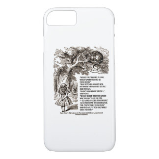 Wonderland Which Way I Ought To Go From Here iPhone 7 Case