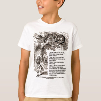 Wonderland Which Way I Ought To Go Quote T-Shirt