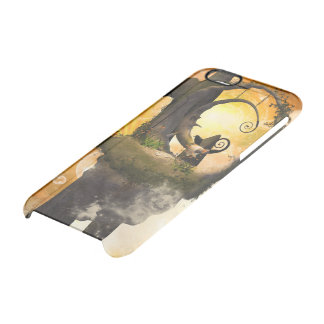 Wonderland with rocks and moon clear iPhone 6/6S case