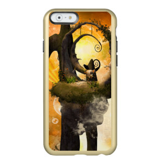 Wonderland with rocks and moon incipio feather shine iPhone 6 case