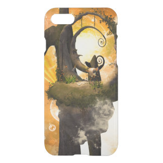 Wonderland with rocks and moon iPhone 8/7 case
