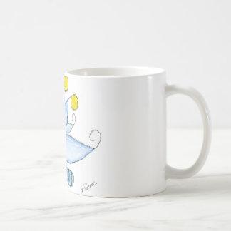 Wonderlandia Dragonfly Classic White Coffee Mug