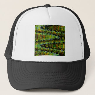 Wonderlands - Dark Green Lagoons Trucker Hat
