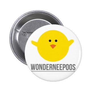 Wonderneepoos Swipes in Pinback Button