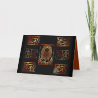 Wonders Of Egypt Greeting Card