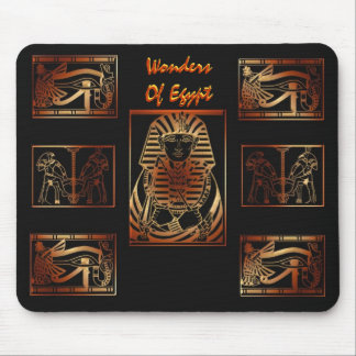 Wonders Of Egypt Mouse Pad