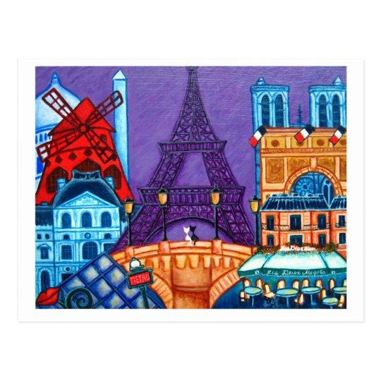 Wonders of Paris Post Card