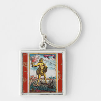 Wonders Of The Ancient World Keychain