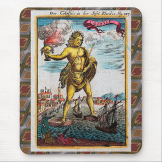 Wonders Of The Ancient World Mouse Pad