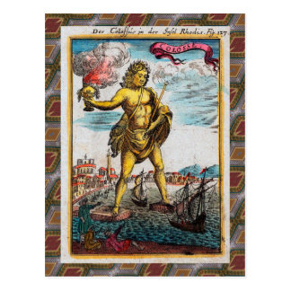 Wonders Of The Ancient World Postcard