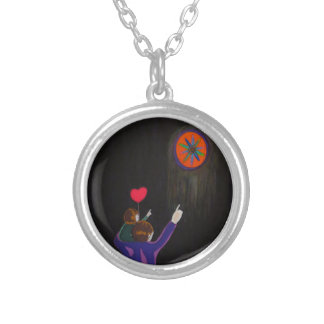 Wonders of the Cosmos Round Pendant Necklace