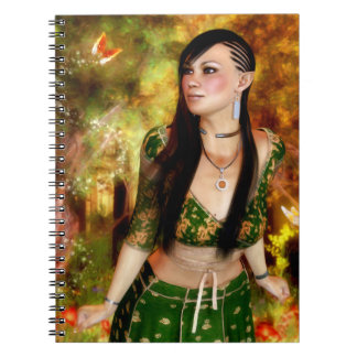 Wonders of the Enchanted Forest Notebook