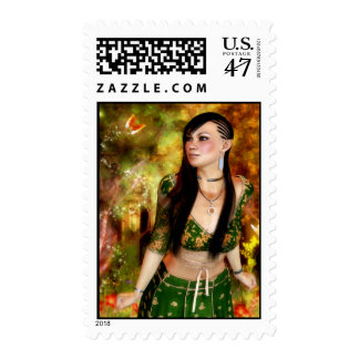 Wonders of the Enchanted Forest Postage
