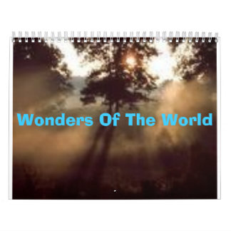Wonders Of The World Calendar