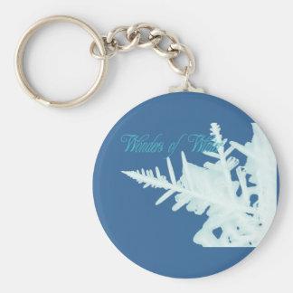 Wonders of Winter Basic Round Button Keychain