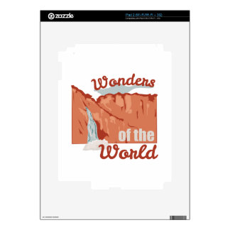 Wonders Of World Skins For The iPad 2