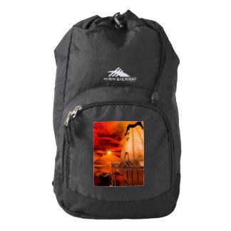 Wonderworld in the sunset high sierra backpack