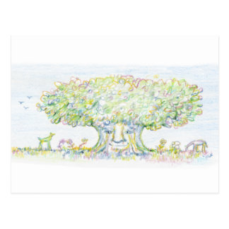 Wondrous Tree Postcard