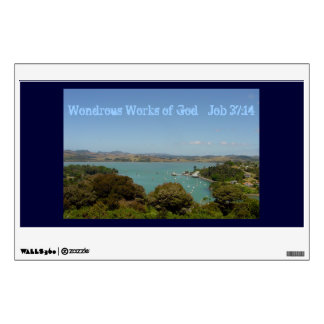 Wondrous Works - Job 37:14 Wall Decal