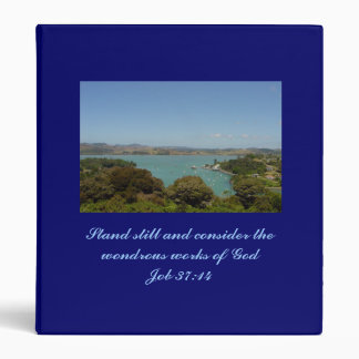 Wondrous Works [of God] - Job 37:14 3 Ring Binder