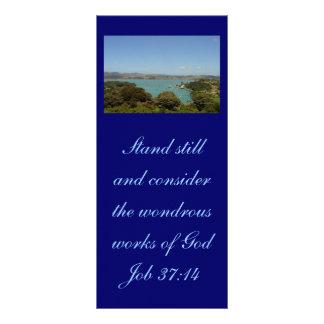 Wondrous Works [of God] - Job 37:14 Rack Card