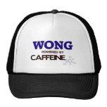 Wong accionó por el cafeína gorra