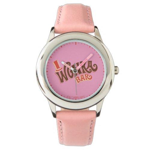 Wonka Bar Logo Watch