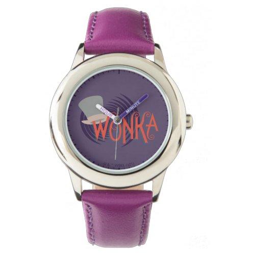 Wonka Spiral Logo Watch