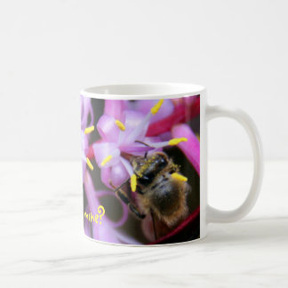 Won't you please bee mine? classic white coffee mug