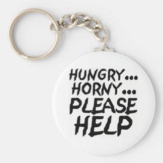 Won't You Please Help? Keychain