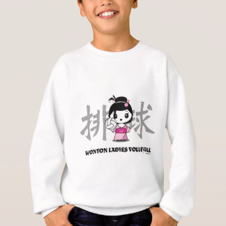 Wonton Ladies Volleyball Sweatshirt