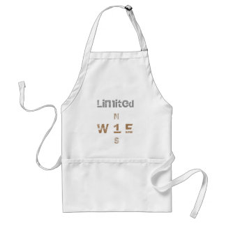 WONZ Limited by shirt to design Adult Apron