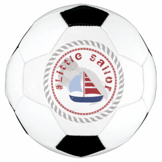 WONZ Limited Little sailor by Shirt to Design Soccer Ball