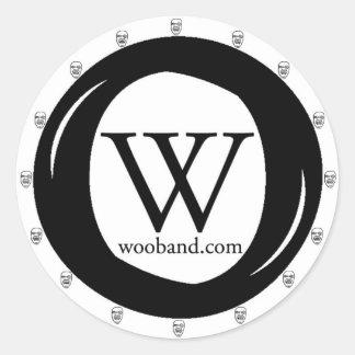 WOO Band Sticker
