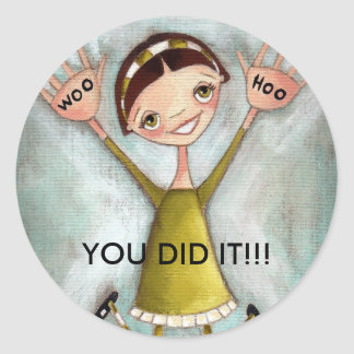 Woo Hoo Girl - Stickers