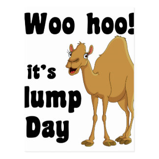 Woo hoo!  It's hump day Postcard