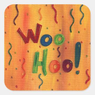 Woo Hoo stickers