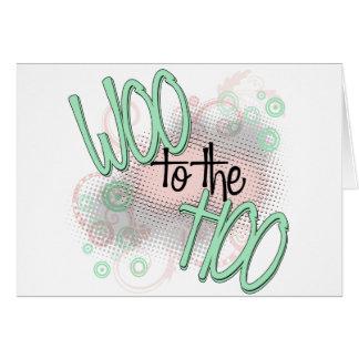 Woo to the Hoo! Card