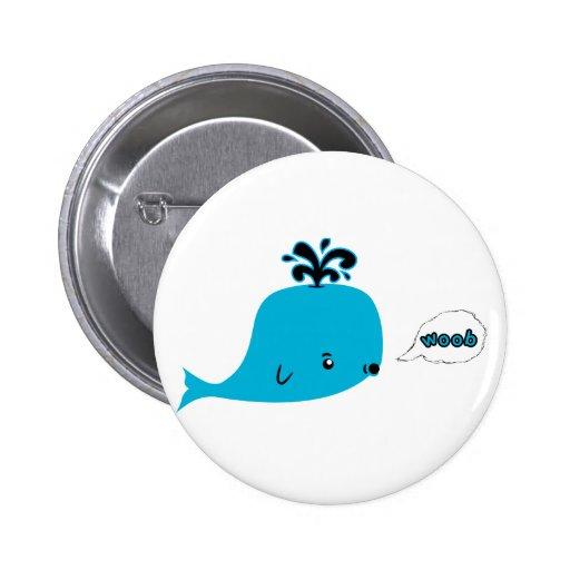 Woob Whale 2 Inch Round Button