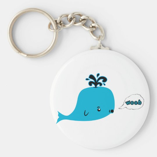 Woob Whale Keychain