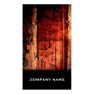 Wood 11 • Elegant Business Card