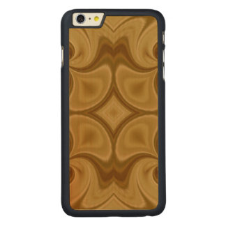 Wood Abstract Pattern Carved Maple iPhone 6 Plus Case