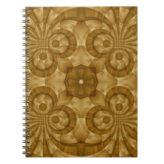 Wood abstract pattern journals