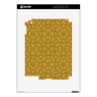 Wood abstract Pattern Skin For The iPad 2