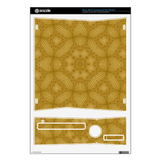 Wood abstract Pattern Skin For The Xbox 360 S